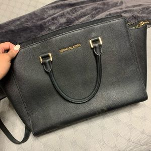 Large black Michael Kors purse